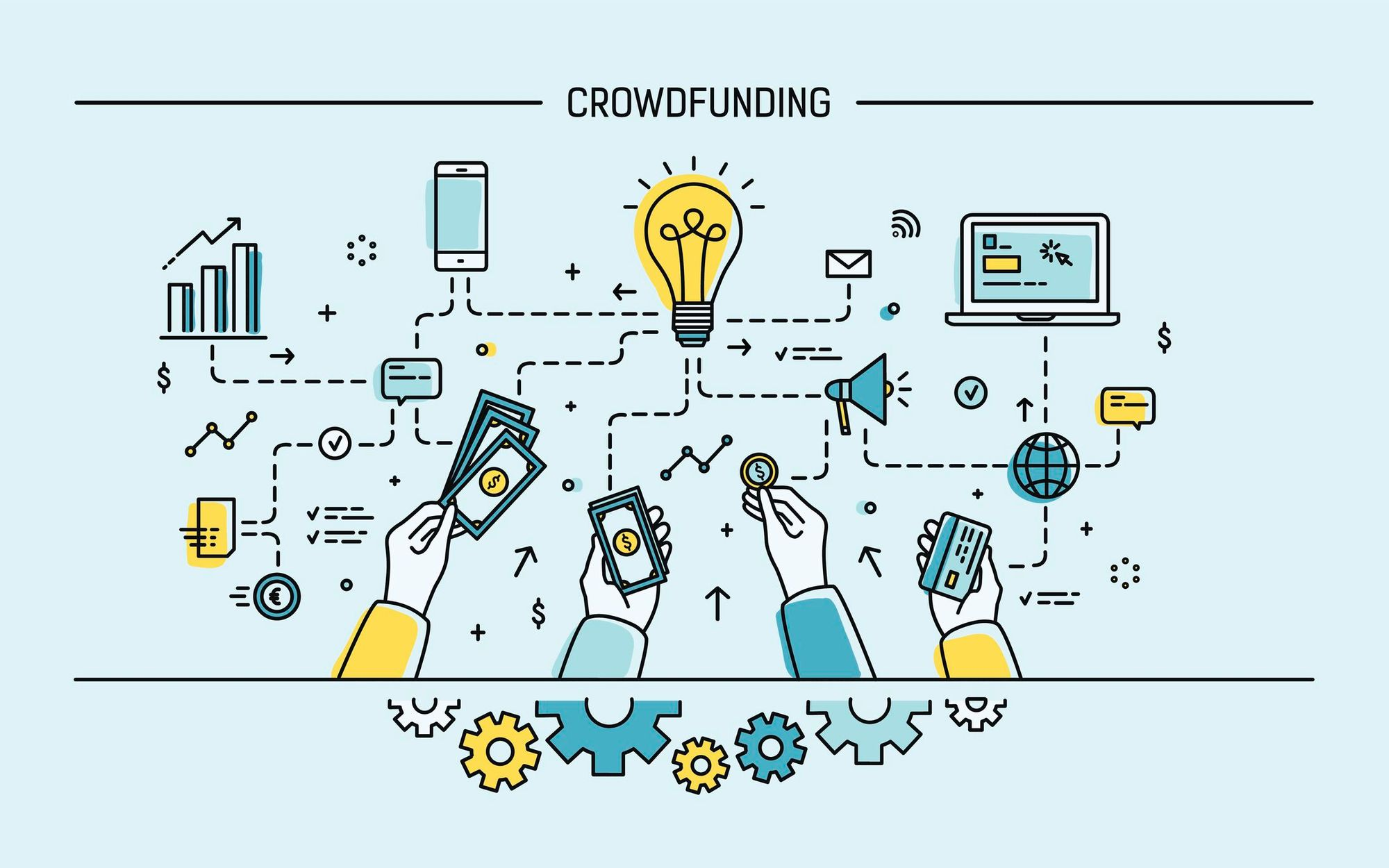 Crowdfunding tips that help after launching the campaign