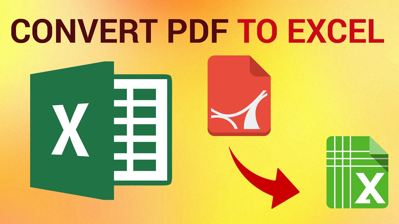 ubah pdf ke excel