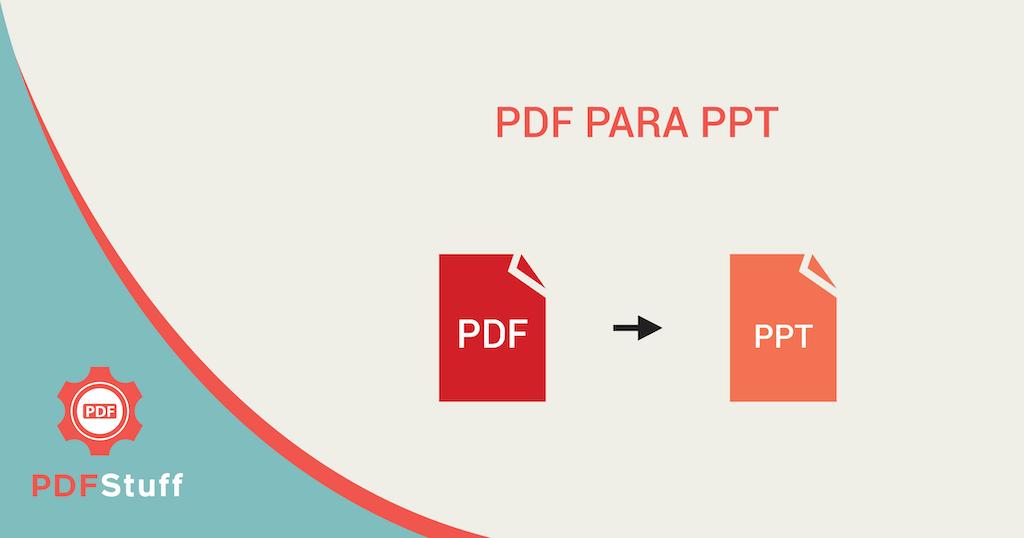 Transformar PowerPoint em PDF