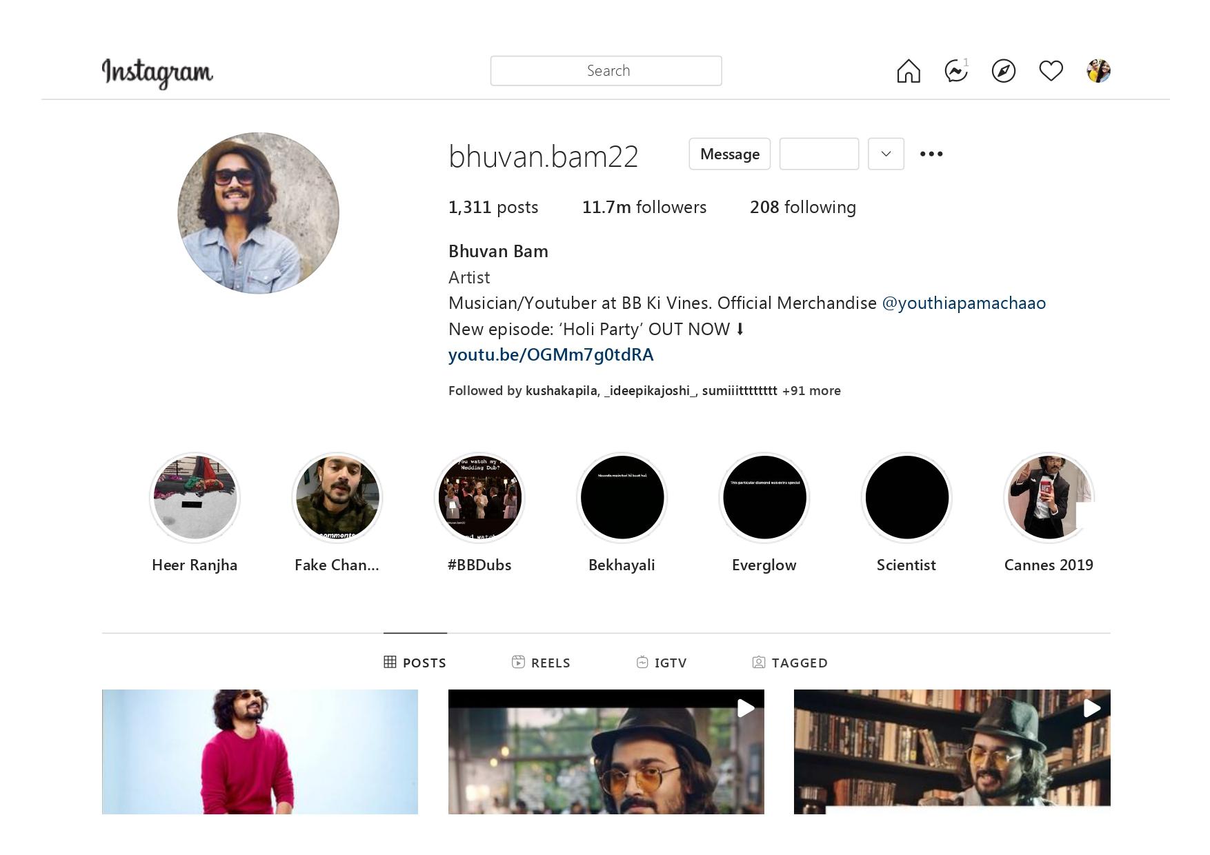 Bhuvan Bam (bhuvan.bam22) Youtuber